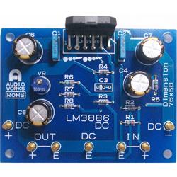 ... 一覧 : パワーアンプ基板 > LM3886 | LM3886_DC キット